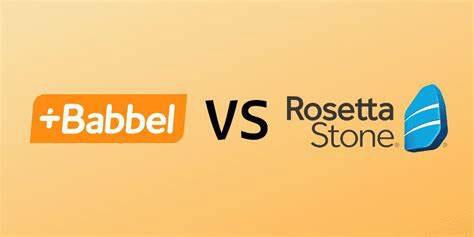 Babbel or Rosetta Stone?