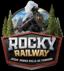 VBS Rocky Railway Theme Logo